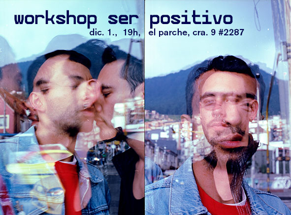 workshop ser positivo info flyer