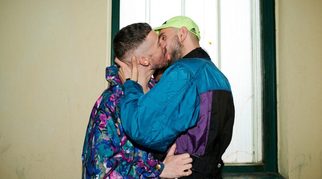 queere Pin-Up-Vorlage für Party & Play